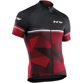 Northwave Origin Bike Jersey Shortsleeve Men red/black